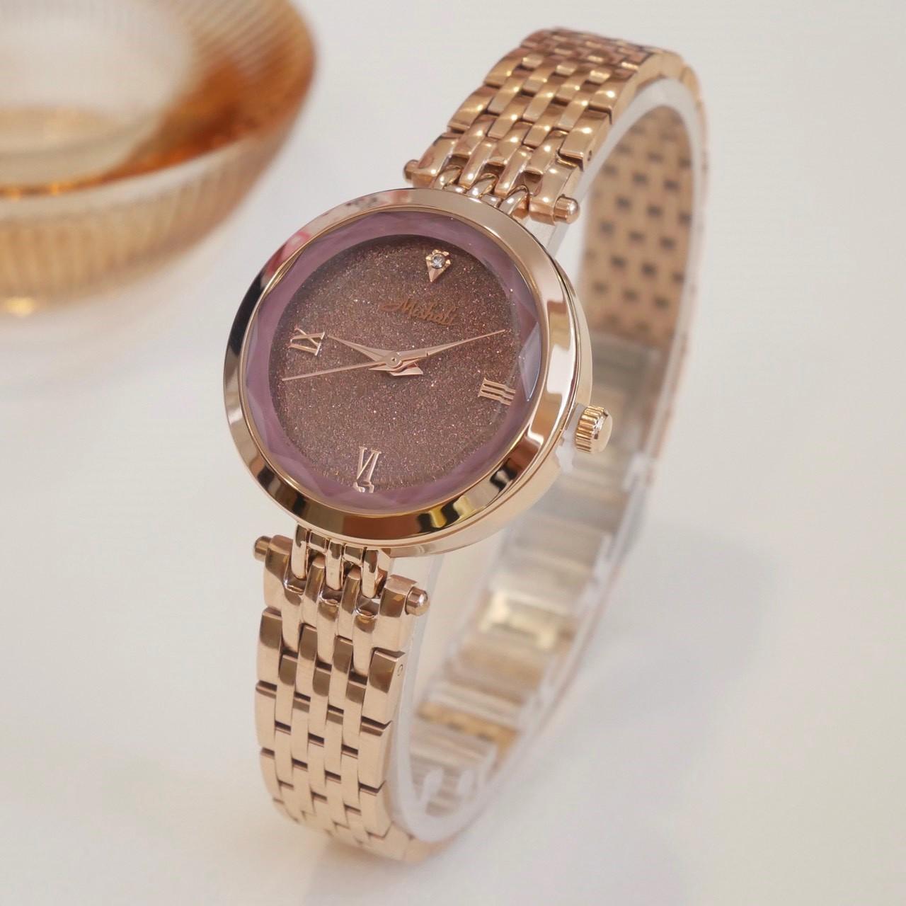 นาฬิกาข้อมือผู้หญิง MISHALI M18028 B