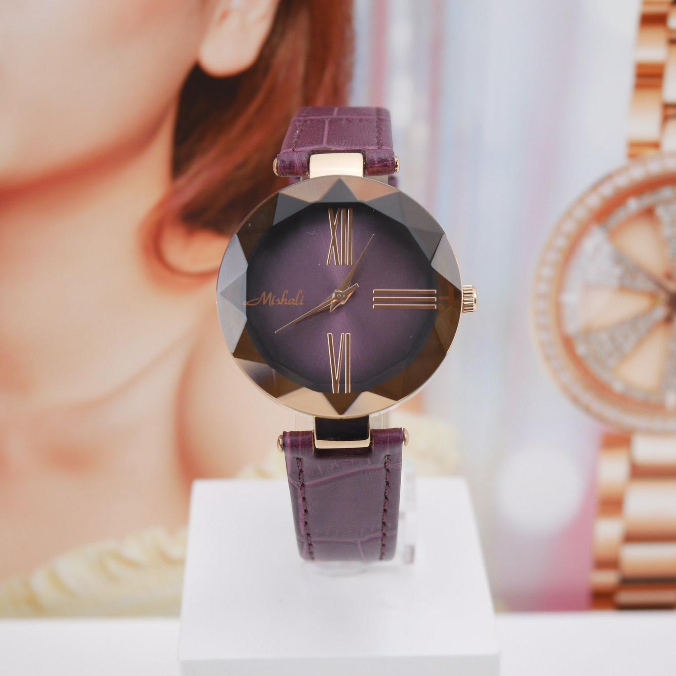 นาฬิกาข้อมือผู้หญิง MISHALI M18037L B