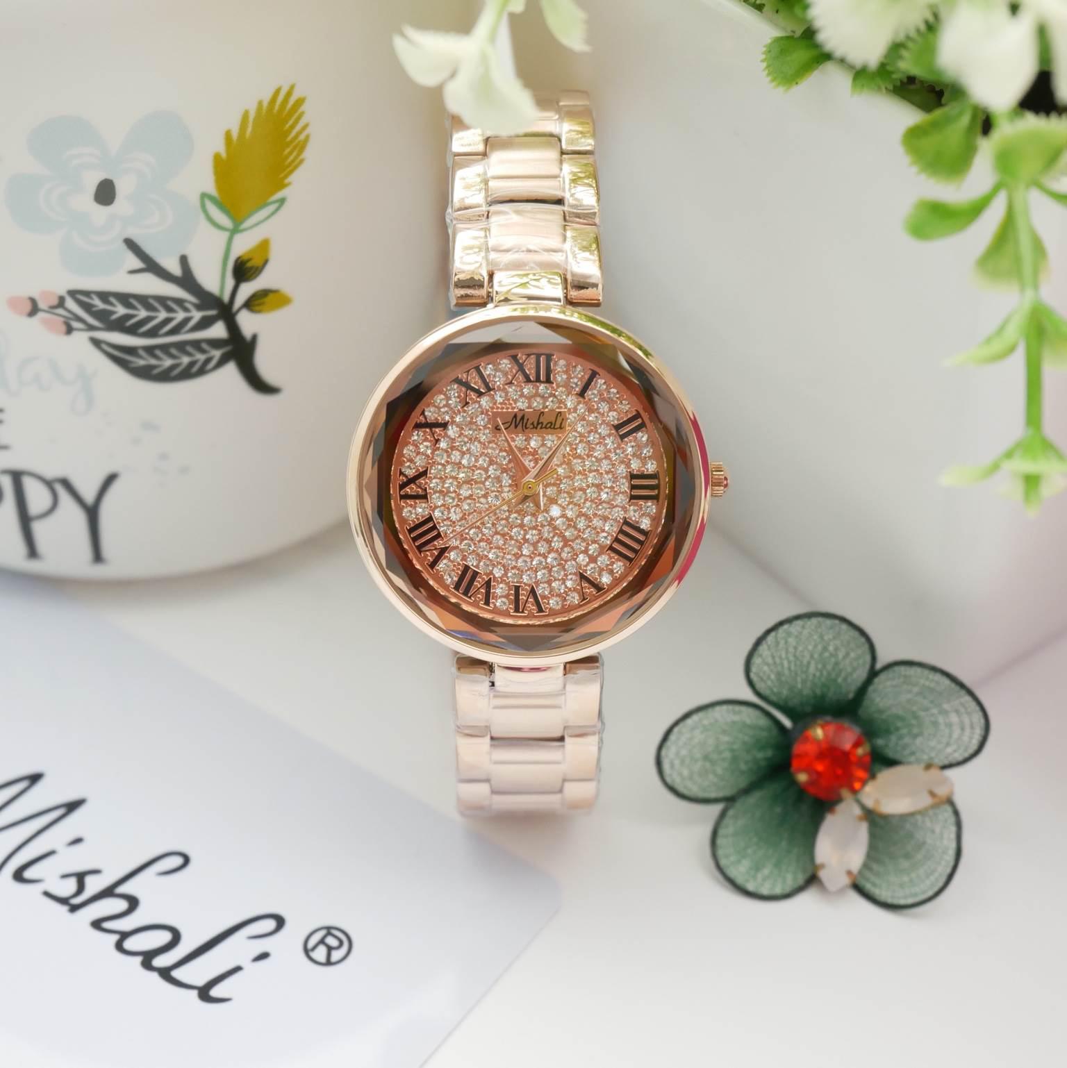 นาฬิกาข้อมือผู้หญิง MISHALI M18038 A