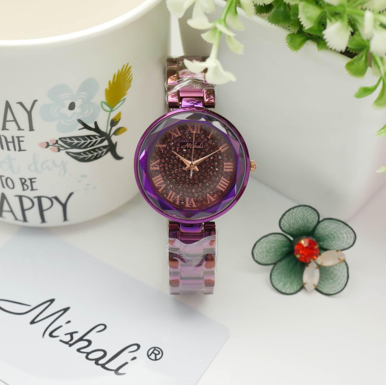 นาฬิกาข้อมือผู้หญิง MISHALI M18038 B