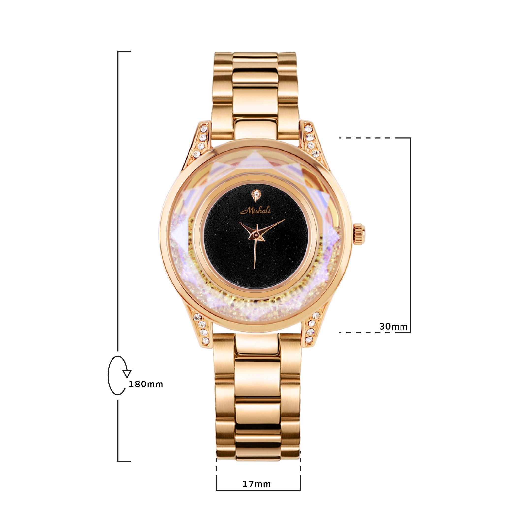 นาฬิกาข้อมือผู้หญิง MISHALI M18523 C