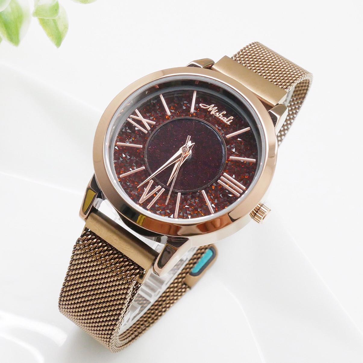 นาฬิกาข้อมือผู้หญิง MISHALI M19003 D