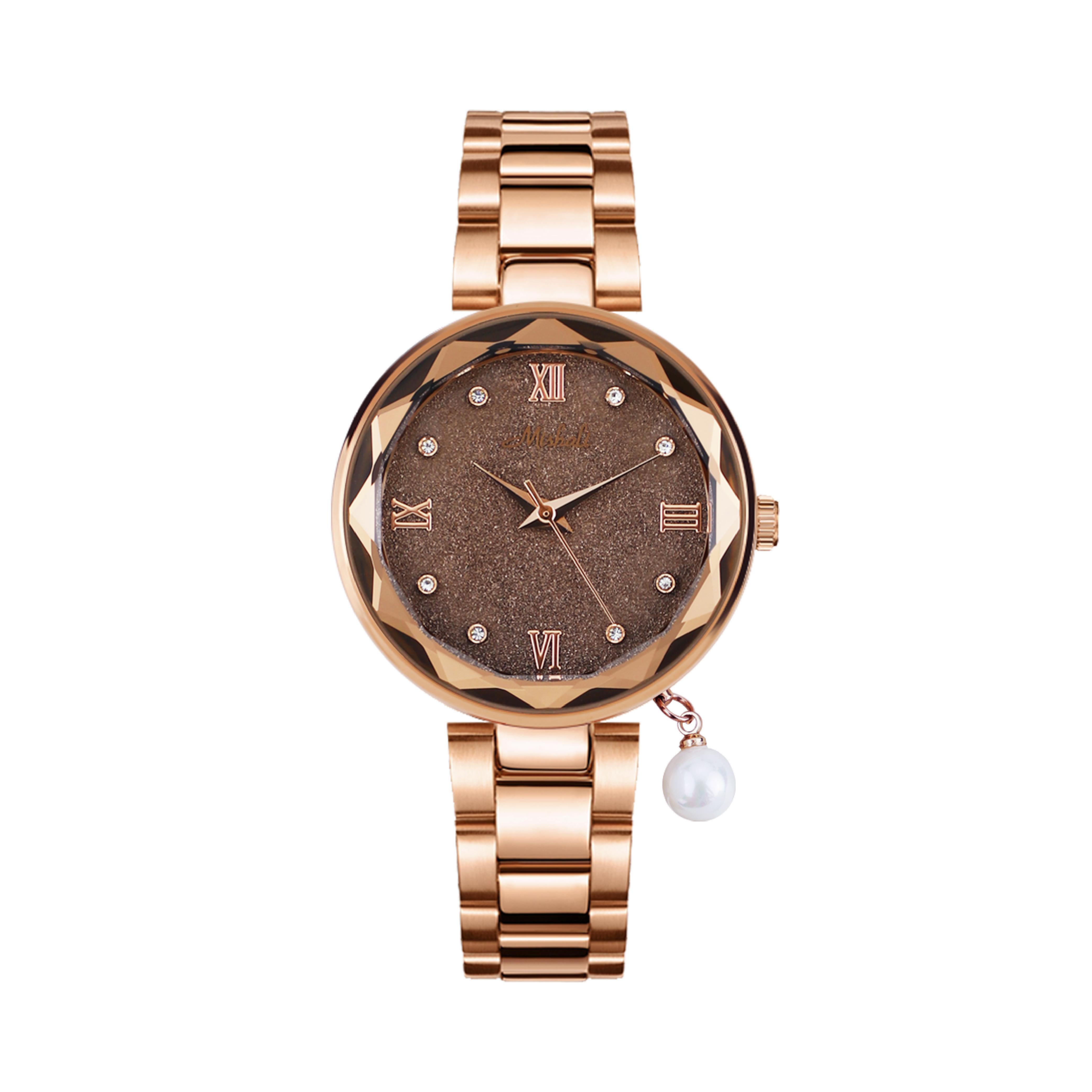 นาฬิกาข้อมือผู้หญิง MISHALI M19030 D