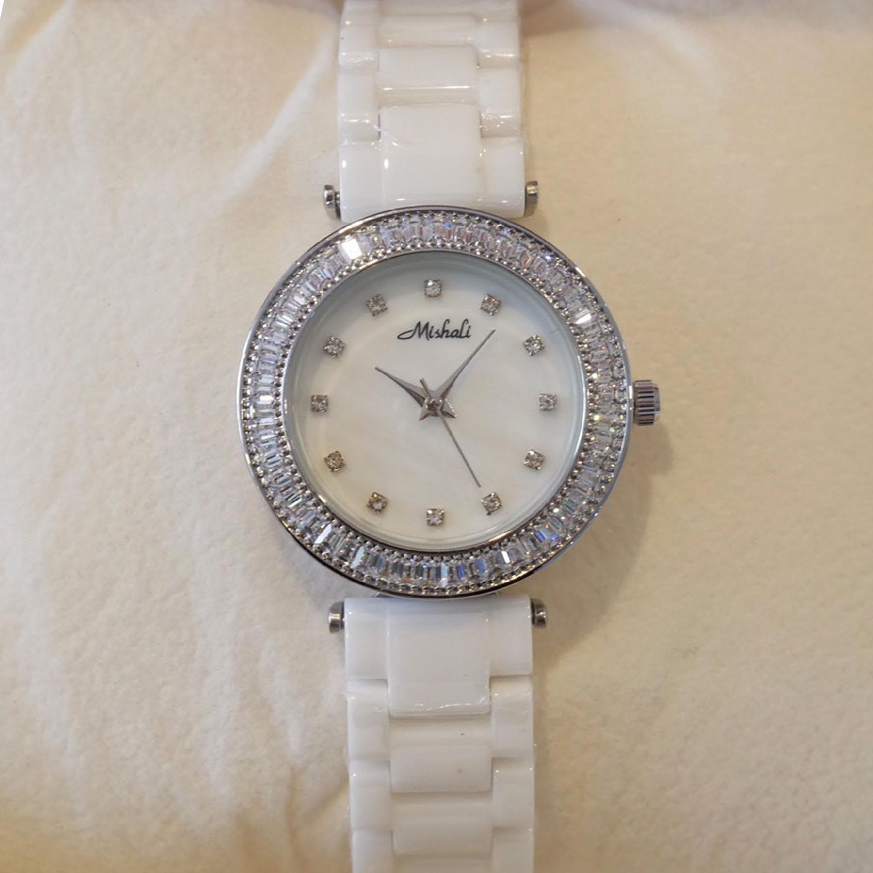 นาฬิกาข้อมือผู้หญิง MISHALI M18031C B