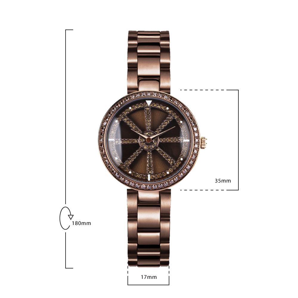 นาฬิกาข้อมือผู้หญิง MISHALI M19040 D