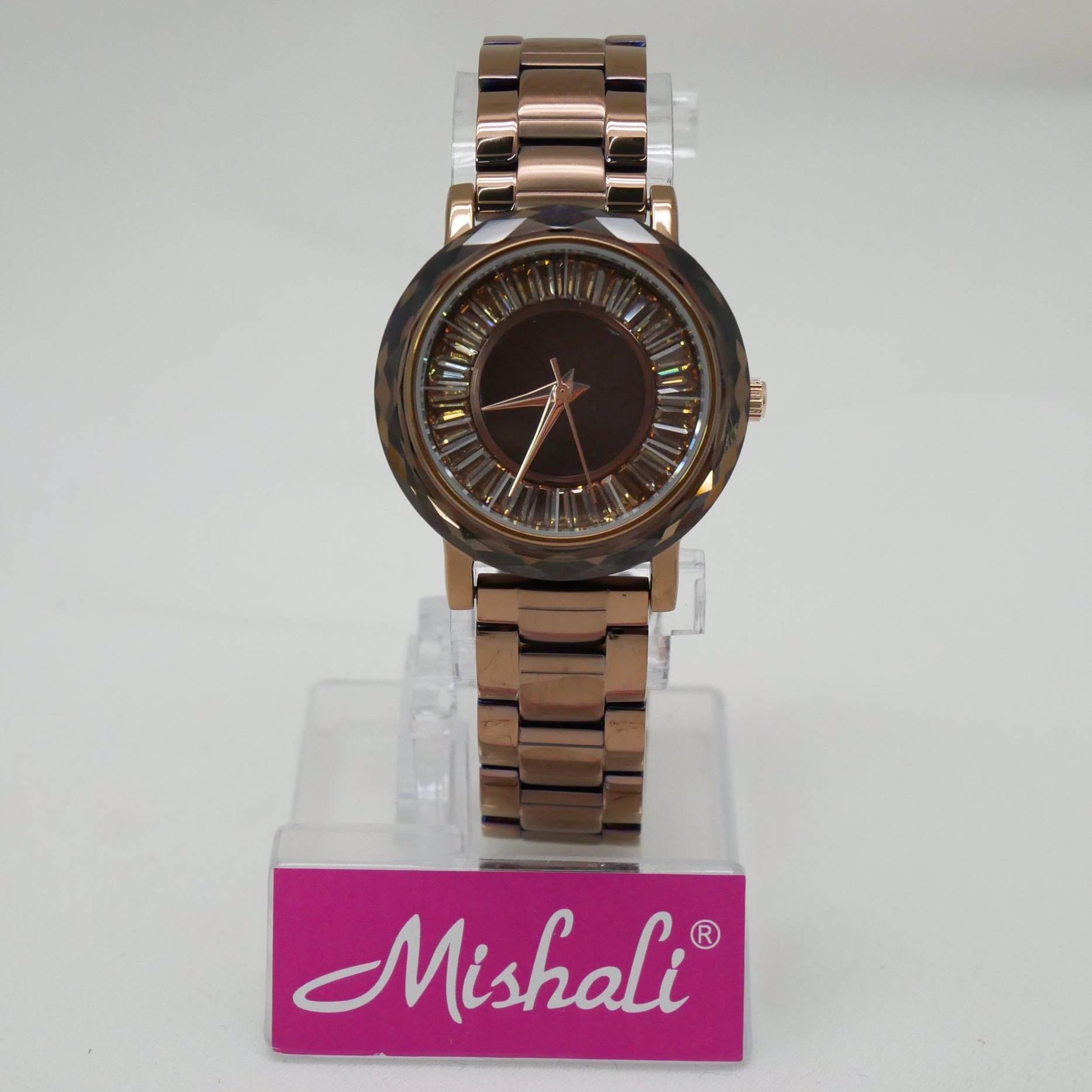 นาฬิกาข้อมือผู้หญิง MISHALI M19042 B