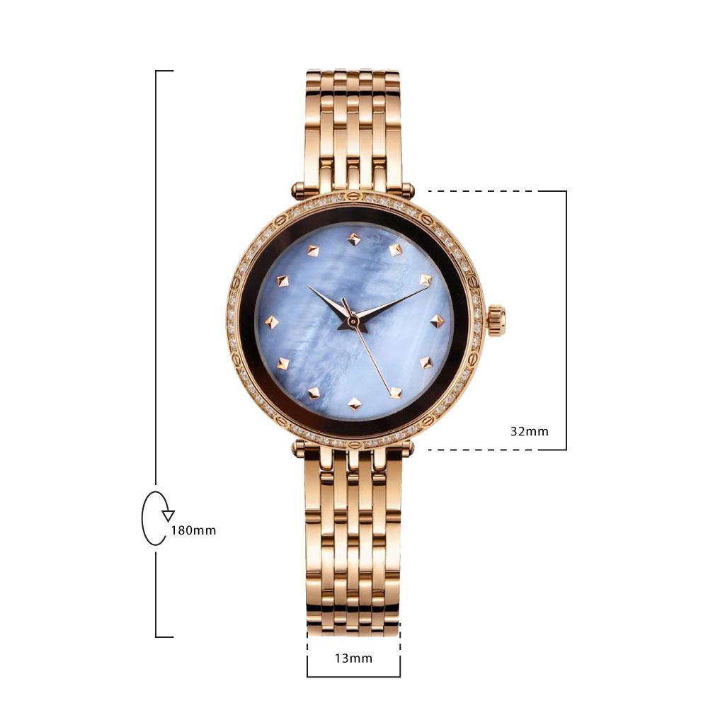 นาฬิกาข้อมือผู้หญิง MISHALI M19043 C