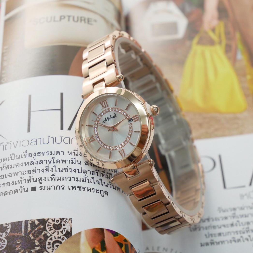 นาฬิกาข้อมือผู้หญิง MISHALI M19049 A