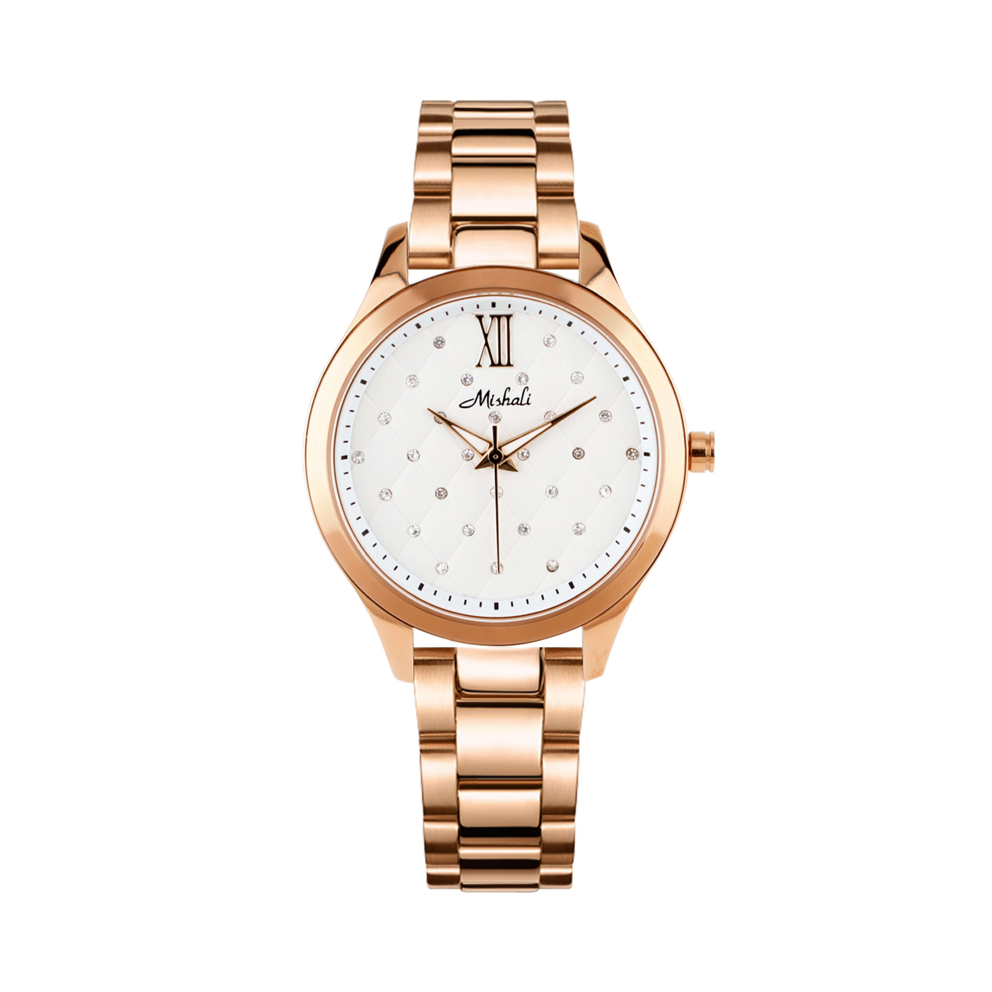 นาฬิกาข้อมือผู้หญิง MISHALI M8026B
