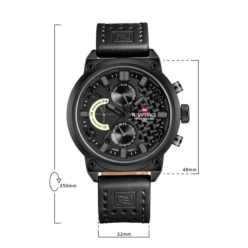 นาฬิกาข้อมือผู้ชาย NAVIFORCE NF9068L A