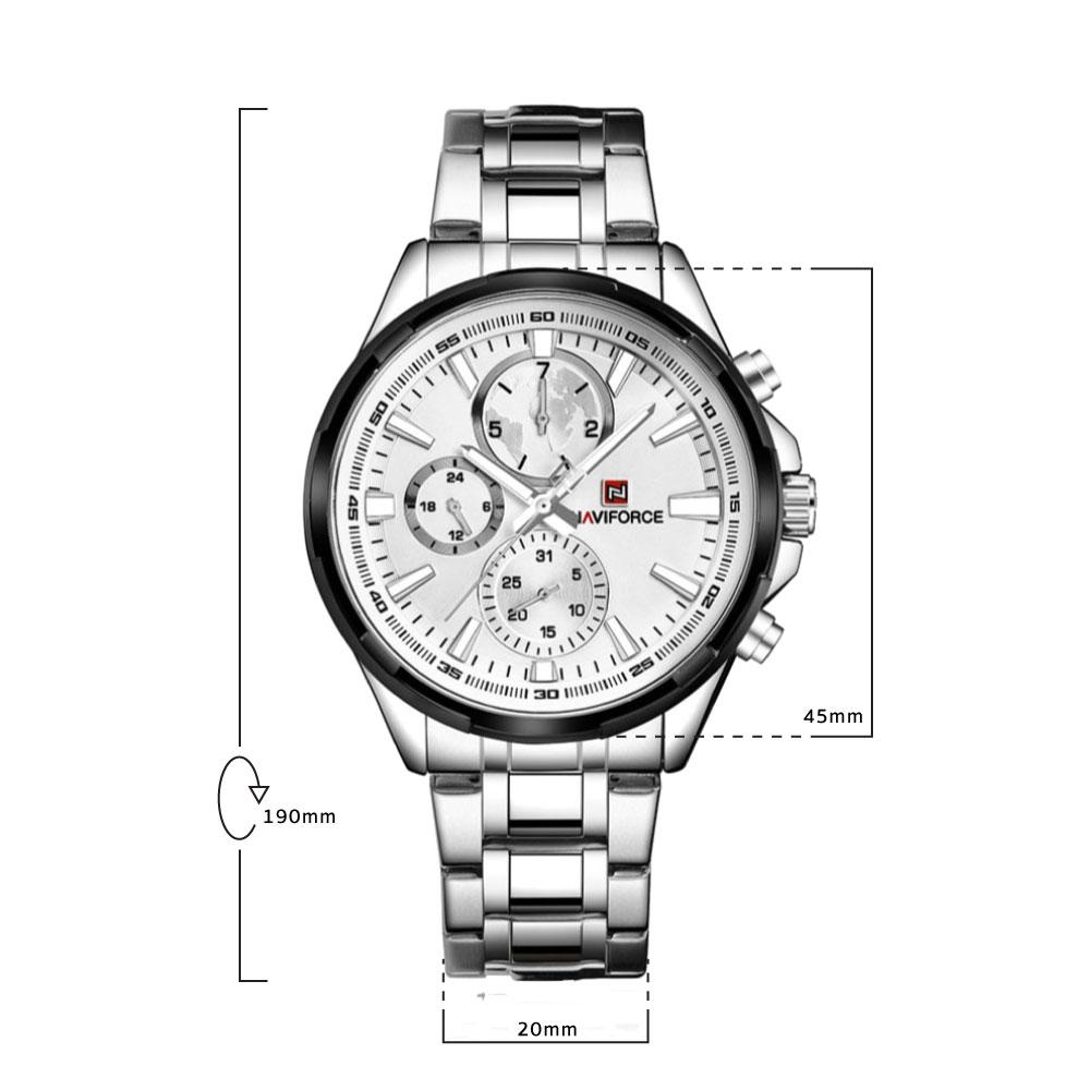 นาฬิกาข้อมือผู้ชาย NAVIFORCE NF9089A