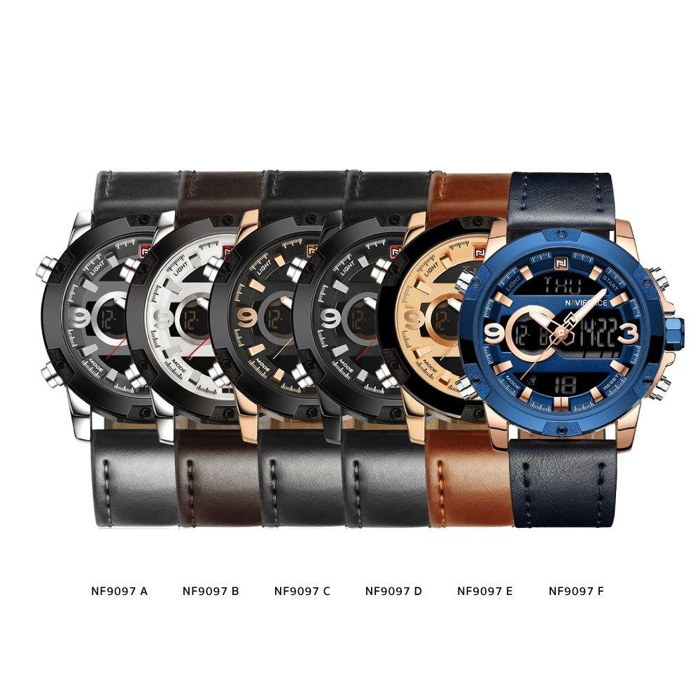 นาฬิกาข้อมือผู้ชาย NAVIFORCE NF9097F