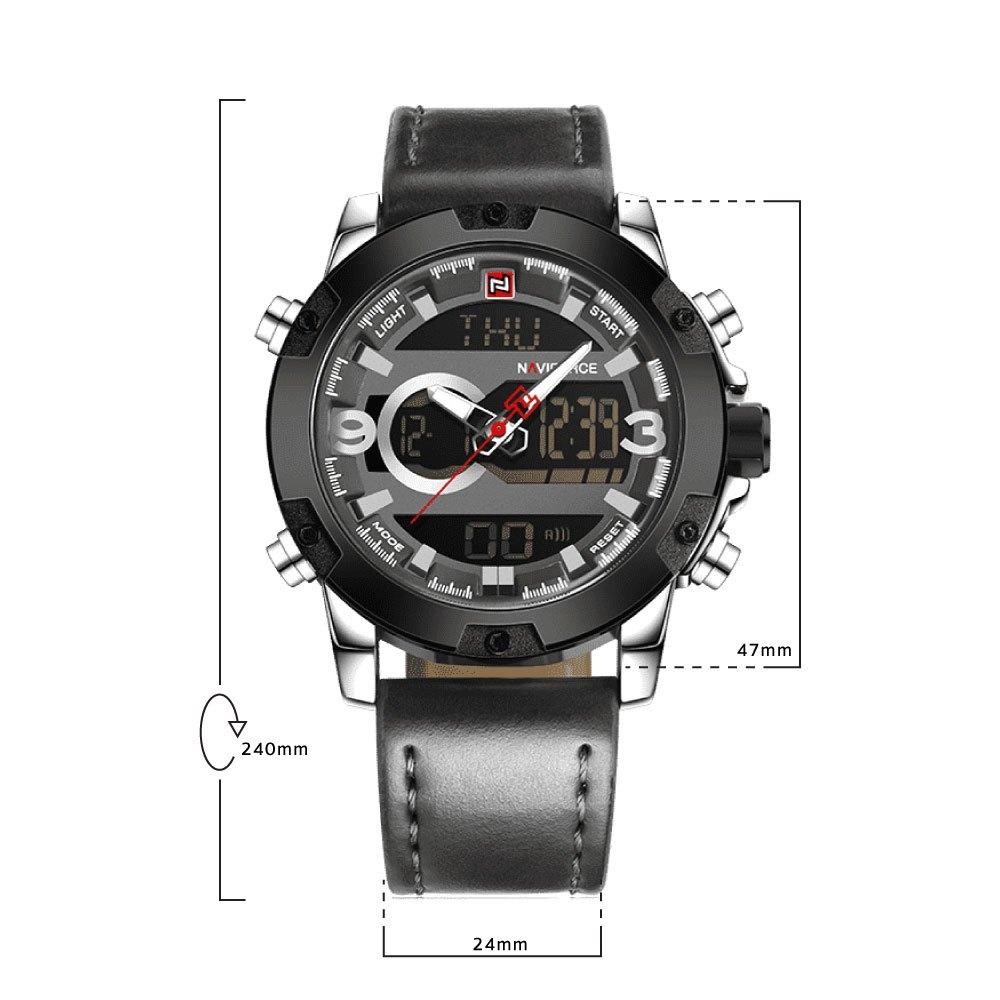 นาฬิกาข้อมือผู้ชาย NAVIFORCE NF9097A