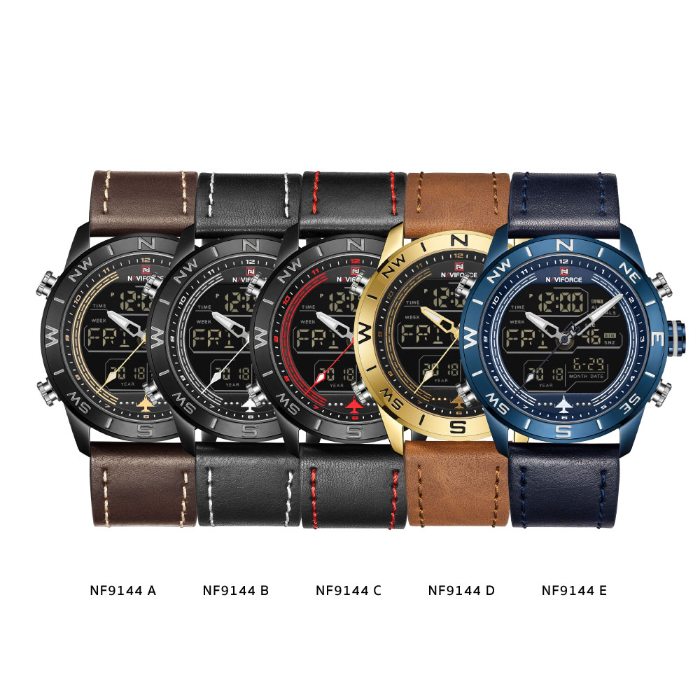 นาฬิกาข้อมือผู้ชาย NAVIFORCE NF9144A