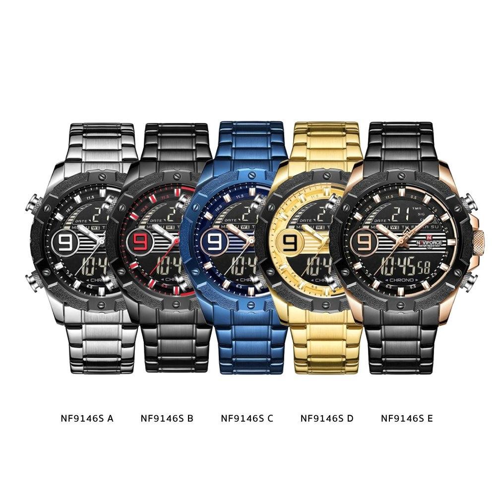 นาฬิกาข้อมือผู้ชาย NAVIFORCE NF9146S A