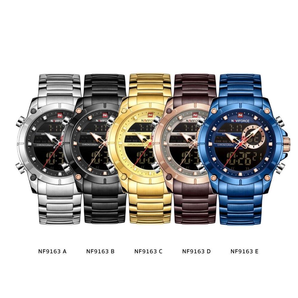 นาฬิกาข้อมือผู้ชาย NAVIFORCE NF9163A