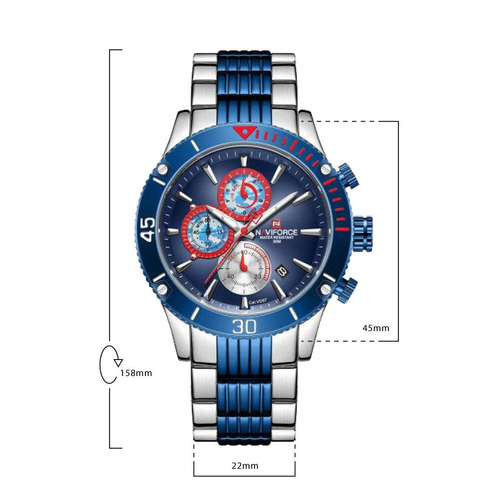 นาฬิกาข้อมือผู้ชาย NAVIFORCE NF9173E